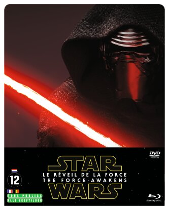 Star Wars - Episode 7 - Le Réveil de la Force (2015) (Limited Edition, Steelbook, 2 Blu-rays + DVD)