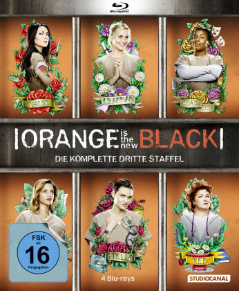 Orange is the new Black - Staffel 3 (4 Blu-rays)