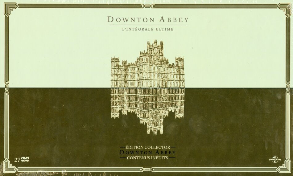 Downton Abbey - Saisons 1-6 (Ultimate Collector's Edition, Limited Edition, 27 DVDs)
