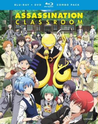 Assassination Classroom - Season 1.1 (2 Blu-rays + 2 DVDs)