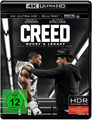 Creed - Rocky's Legacy (2015) (4K Ultra HD + Blu-ray)