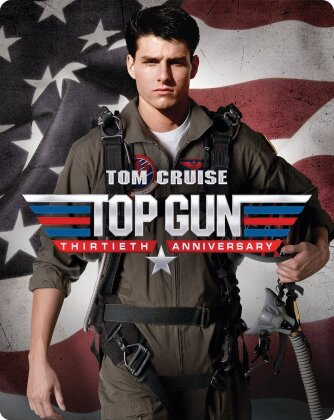 Top Gun (1986) (30th Anniversary Edition, Steelbook, Blu-ray + DVD)