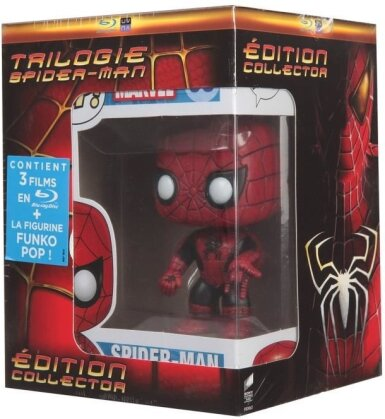 Spider-Man Trilogie (+ figurine Pop! (Funko), Collector's Edition, 3 Blu-rays)