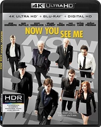 Now You See Me (2013) (4K Ultra HD + Blu-ray)