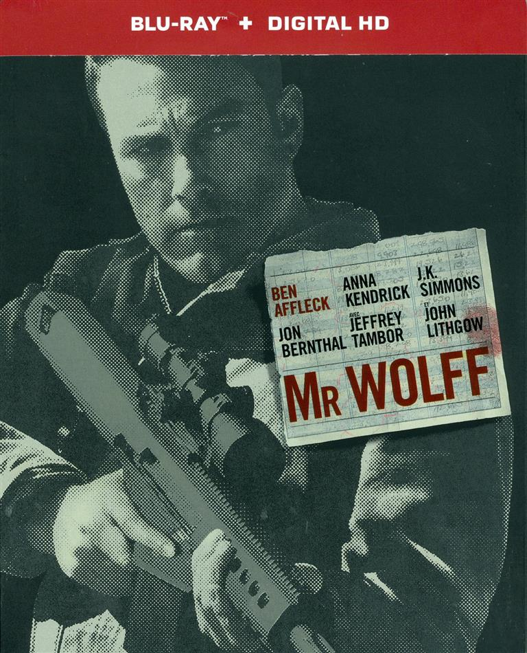 Mr Wolff - The Accountant (2016) (Limited Steelbook)