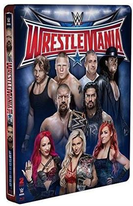 WWE: Wrestlemania 32 (Limited Edition, Steelbook, 2 Blu-rays)