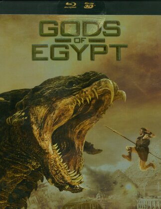 Gods of Egypt (2016) (Limited Edition, Steelbook, Blu-ray 3D + Blu-ray)