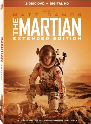 Martian (2015) (Widescreen, Extended Edition, 2 DVDs)