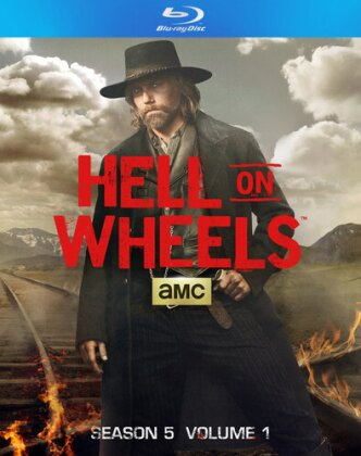 Hell on Wheels - Season 5.1 (2 Blu-rays)