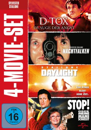 Sylvester Stallone - 4 - Movie Set (4 DVDs)