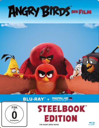 Angry Birds - Der Film (2016) (Steelbook)