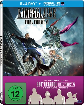 Kingsglaive - Final Fantasy XV (2016) (Steelbook, 2 Blu-rays)