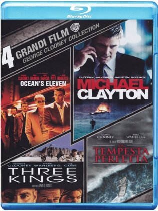 4 Grandi Film - George Clooney Collection (4 Blu-rays)