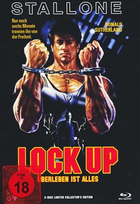 Lock Up (1989) (Cover A, Mediabook, Limited Collector's Edition, Blu-ray + DVD)
