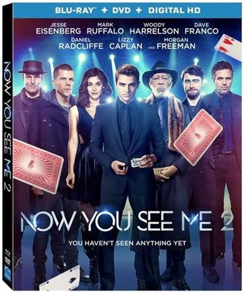 Now You See Me 2 (2016) (Blu-ray + DVD)