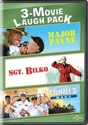 Major Payne / Sgt. Bilko / McHale's Navy (3-Movie Laugh Pack, 2 DVDs)