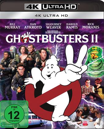 Ghostbusters 2 (1989) (4K Ultra HD + Blu-ray)