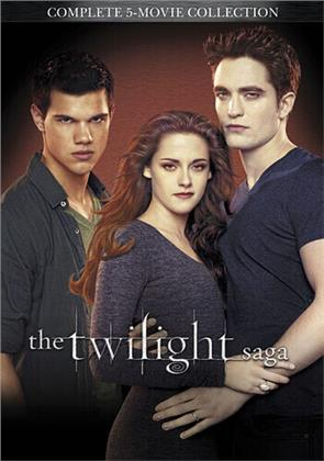 The Twilight Saga - Complete 5-Movie Collection (5 DVDs)