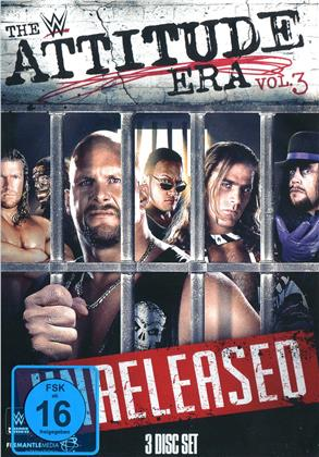WWE: The Attitude Era - Vol. 3 - Unreleased (3 DVDs)
