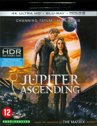 Jupiter Ascending (2015) (4K Ultra HD + Blu-ray)
