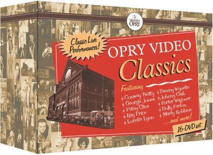 Various Artists - Opry Video Classics - Classic Live Performances! (16 DVDs)