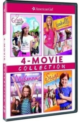 Grace Stirs Up Success / Isabelle Dances Into the Spotlight / McKenna Shoots for the Stars / Saige Paints the Sky (American Girl: 4-Movie Collection, 4 DVDs)