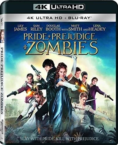 Pride and Prejudice and Zombies (2016) (4K Ultra HD + Blu-ray)