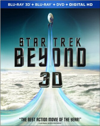 Star Trek 13 - Beyond (2016) (Blu-ray 3D + DVD + Blu-ray)