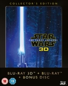 Star Wars - Episode 7 - The Force Awakens (2015) (Collector's Edition, Blu-ray 3D + 2 Blu-rays)