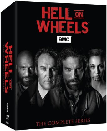 Hell on Wheels - The Complete Series (17 Blu-rays)