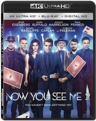 Now You See Me 2 (2016) (4K Ultra HD + Blu-ray)