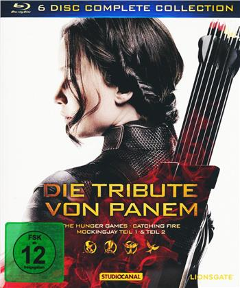 Die Tribute von Panem - Complete Collection (2 Blu-ray 3D + 4 Blu-rays)