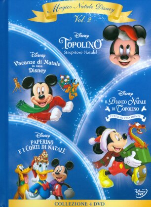 Magico Natale Disney - Volume 2 (Digibook, 4 DVDs)