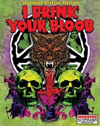 I Drink Your Blood (1970) (Deluxe Edition, 2 Blu-rays)