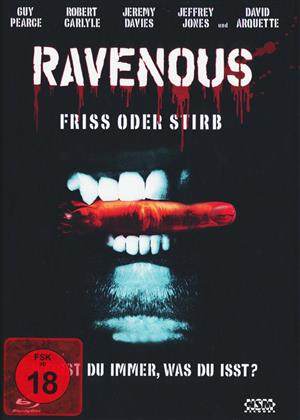 Ravenous - Friss oder Stirb (1999) (Cover A, Mediabook, Blu-ray + DVD)