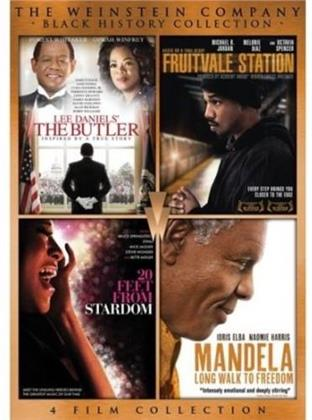 Lee Daniels' The Butler / Fruitvale Station / Twenty Feet From Stardom / Mandela: Long Walk To Freedom (Black History Collection, The Weinstein Company, 4 DVDs)