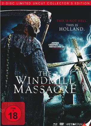 The Windmill Massacre (2016) (Limited Collector's Edition, Mediabook, Uncut, Blu-ray + DVD)