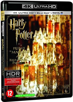 Harry Potter et le prince de sang-mêlé (2009) (4K Ultra HD + Blu-ray)