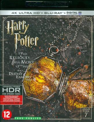Harry Potter et les reliques de la mort - Partie 1 - Harry Potter and the Deathly Hallows - Part 1 (2010) (4K Ultra HD + Blu-ray)