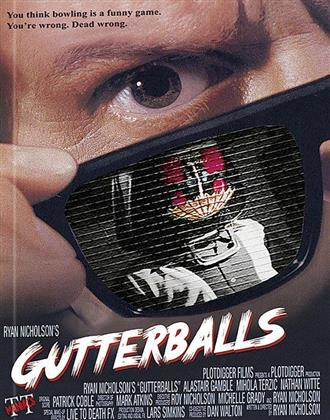 Gutterballs (2008) (Cover B, Limited Edition, Mediabook, Unrated, Blu-ray + DVD)