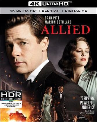 Allied (2016) (4K Ultra HD + Blu-ray)