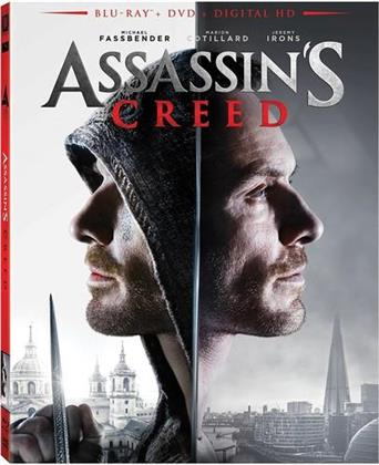 Assassin's Creed (2016) (Widescreen, Blu-ray + DVD)