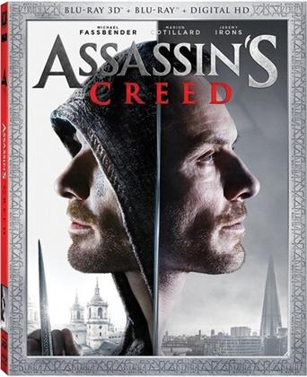 Assassin's Creed (2016) (Widescreen, Blu-ray + Blu-ray 3D)