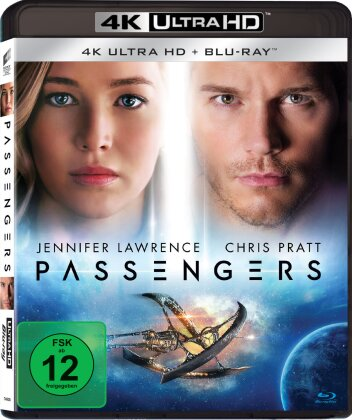 Passengers (2016) (4K Ultra HD + Blu-ray)