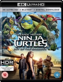 Teenage Mutant Ninja Turtles 2 - Out Of The Shadows (2016) (4K Ultra HD + Blu-ray)