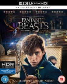 Fantastic Beasts And Where To Find Them (2016) (4K Ultra HD + Blu-ray)
