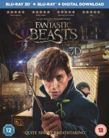 Fantastic Beasts And Where To Find Them (2016) (Blu-ray 3D + Blu-ray)