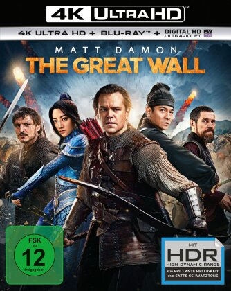 The Great Wall (2016) (4K Ultra HD + Blu-ray)