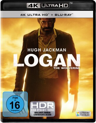 Logan - The Wolverine (2017) (4K Ultra HD + Blu-ray)