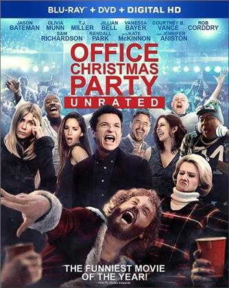 Office Christmas Party (2016) (Blu-ray + DVD)